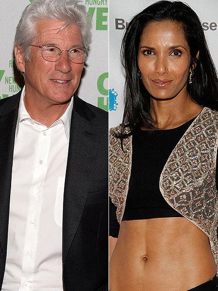 richard gere and padma lakshmi dating again