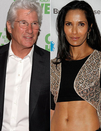 Are Richard Gere and Padma Lakshmi Secretly Dating?