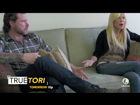 Cheatin' Dean McDermott Is Threatening to Divorce Tori Spelling!