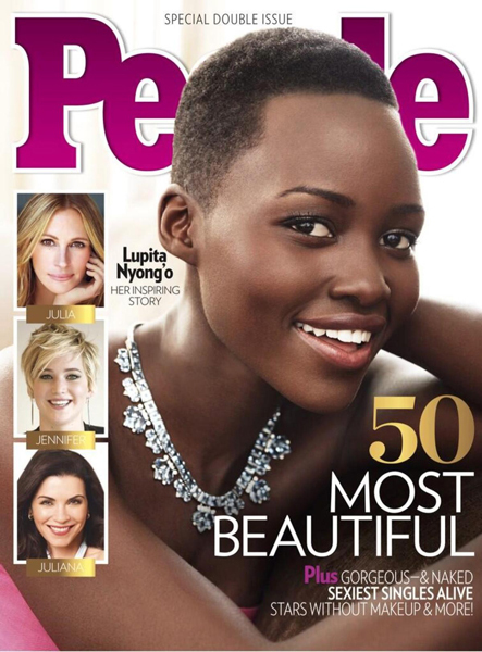 People's Most Beautiful Person Is Oscar Winner Lupita Nyong'o!