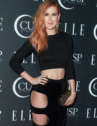 Rumer Willis left little to the imagination at Elle's Women in Music Concert in Hollywood.
