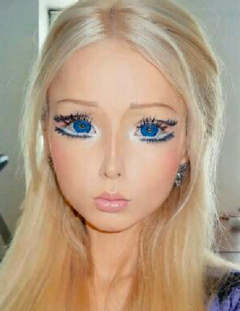 Human Barbie Valeria Lukyanova Video See Her Tiny Waist And Extreme Body Proportions | ExtraTV.com