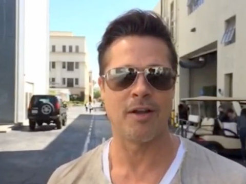Watch! Brad Pitt Wants You to Join His Groupon