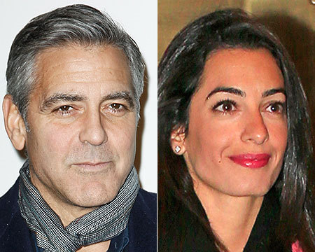 George Clooney Engaged! What You Should Know About His Fiancée, Amal Alamuddin
