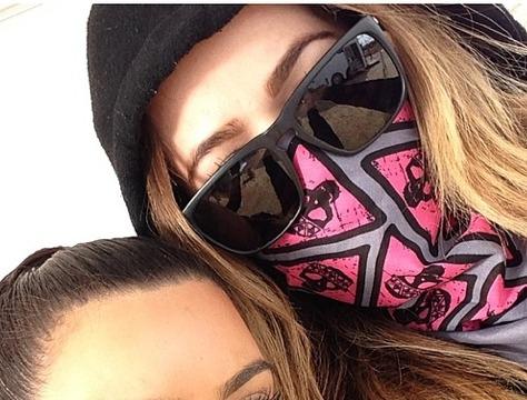 Pics! Kim and Khloé Kardashian Get Down and Dirty on a Mud Run