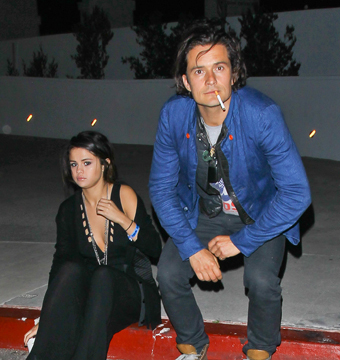 New Couple Alert? Orlando Bloom and Selena Gomez Spotted Together