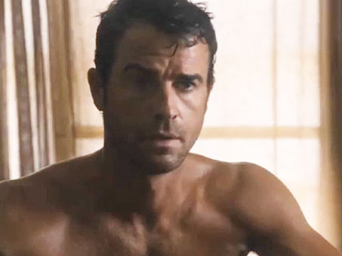 Video! Justin Theroux Shows Off Hot Bod in 'The Leftovers'