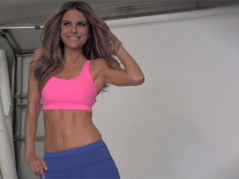 Watch! Maria Menounos Shares Her Workout Secrets During Fitness RX Cover Shoot