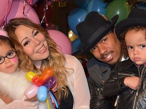 Cute Pics of Mariah Carey's Twins Being Surly Toddlers