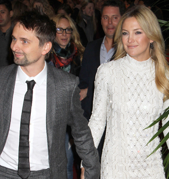 Kate Hudson Drops Hint About Marrying Matt Bellamy