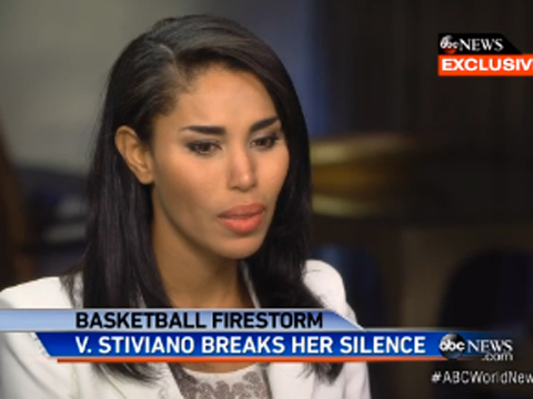 5 Ridiculous Things Donald Sterling's Ex-GF V. Stiviano Told Barbara Walters