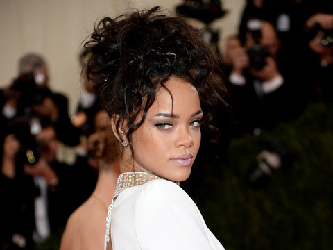 Frisky or Too Risky? See Rihanna's Booty-Baring After-Party Dress