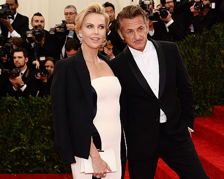 Met Gala 2014: Charlize & Sean, Kim & Kanye, and Other Star Couple Sightings