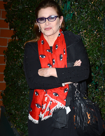 Carrie Fisher Lost 40 Pounds for New 'Star Wars' Movie!