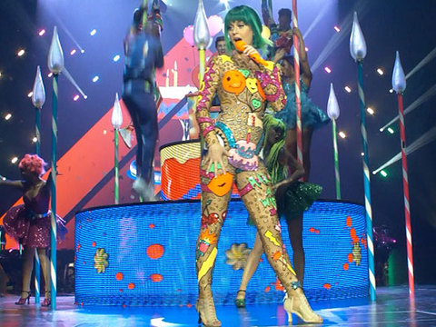 Check Out All of Katy Perry's Wild Outfits from Her Prismatic Tour!