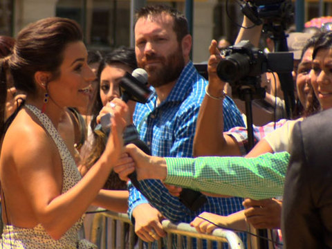 Hanging with Lea Michele at the 'Legends of Oz' Premiere