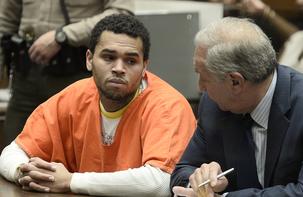 Chris Brown Admits Probation Violation, Gets More Jail Time