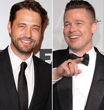 Video! Jason Priestley Tells Hilarious Story About Rooming with Brad Pitt