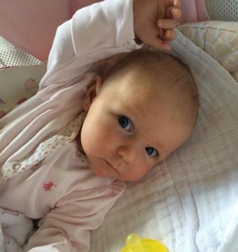 First Pic! John Krasinski and Emily Blunt's Baby Girl