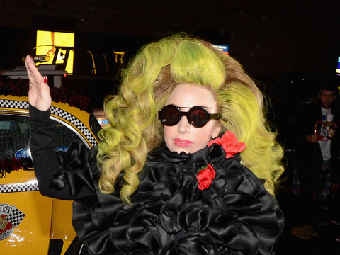 Lady Gaga Is Just Like Us… Except When She Has to Walk Her Puppy in Disguise