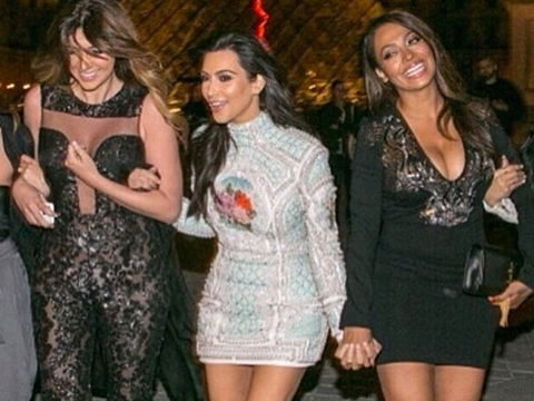 Pics! Kim Kardashian's Bachelorette Party in Paris