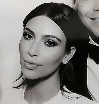 See Kim Kardashian's Wedding Dress!