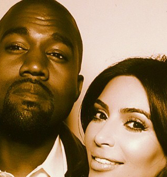 See Kim and Kanye's First Honeymoon Pic!
