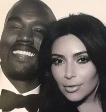 See Kim and Kanye's Official Wedding Pics!
