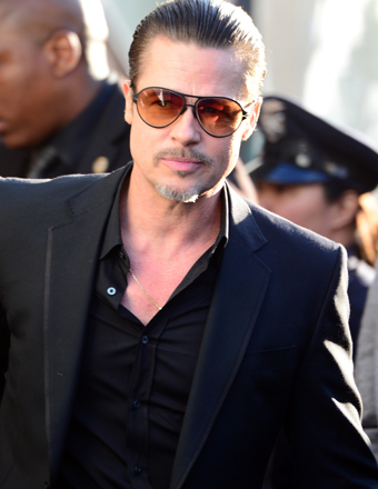 Video! Brad Pitt Attacked on 'Maleficent' Premiere Red Carpet