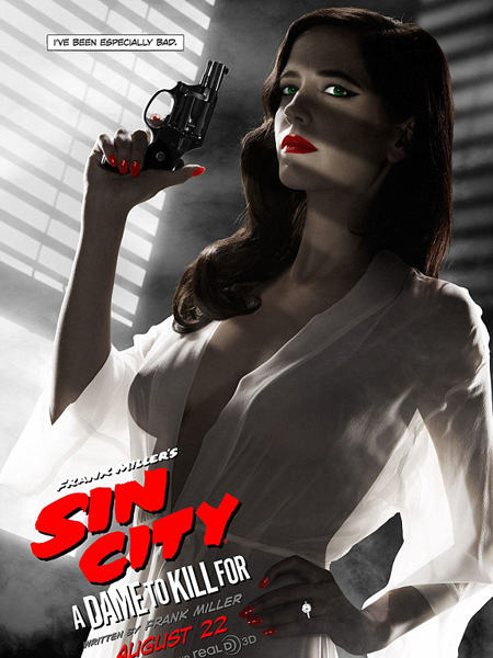 NSFW? See Eva Green's Banned 'Sin City 2' Poster!