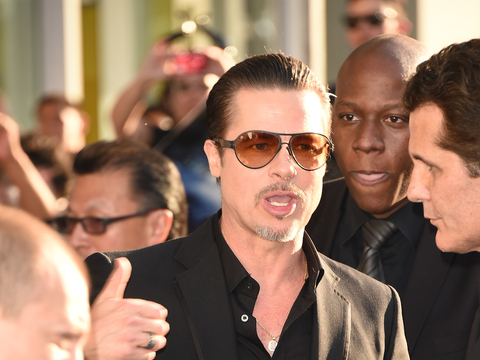 Brad Pitt Gives His Take on Vitalii Sediuk's Red Carpet Attack