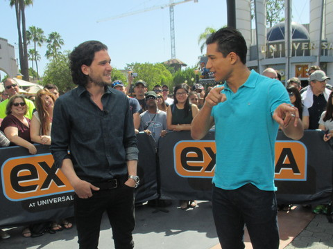 Video! Kit Harington Dishes on 'Game of Thrones'