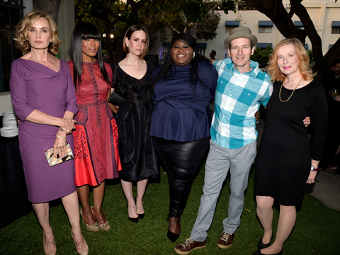 'American Horror Story' Cast Dishes on 'Freak Show' and 'Coven'!