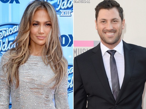 Hot Hookup? New Details About J.Lo and Maksim's Rumored Romance