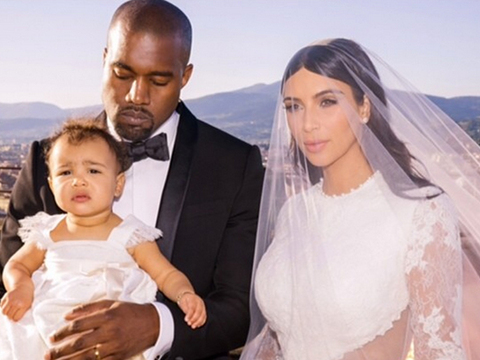 Kim and Kanye's Wedding Album! See the New Pics