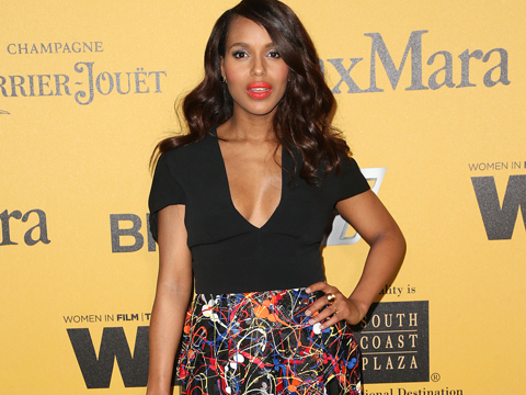 Video! Kerry Washington Shows Off Post-Baby Body at the Crystal and Lucy Awards