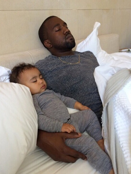 Kim K and Kanye Celebrate North's First Birthday and Father's Day in NYC