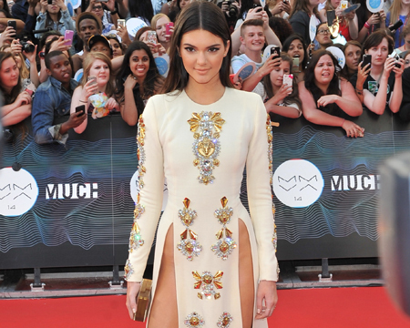 Kendall Jenner Leaves Underwear at Home for MuchMusic Awards