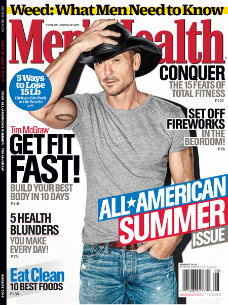 Tim McGraw Shows Off 8-Pack Abs, Reveals Why He Got Sober