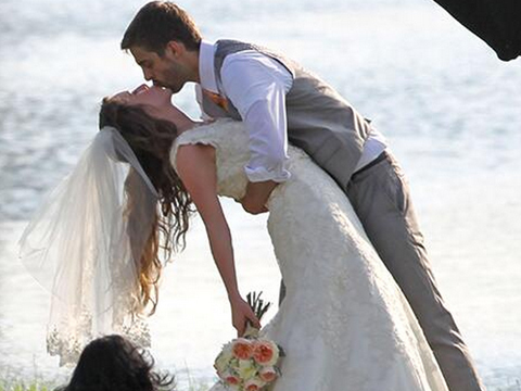 Wedding Joy! See Jill Duggar and Derick Dillard's Romantic First Kiss