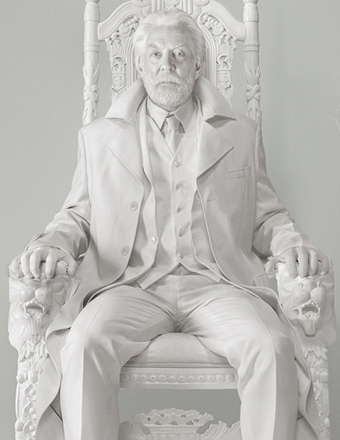 'Hunger Games' Sneak Peek: A Message from President Snow
