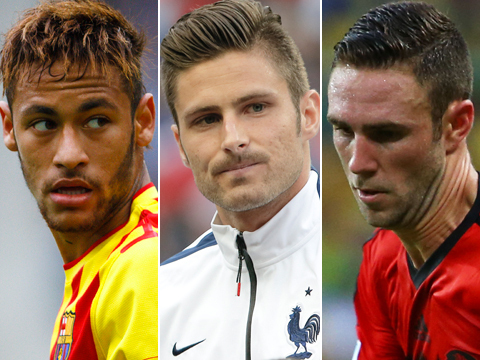 Olivier giroud hairstyle 2014 world cup