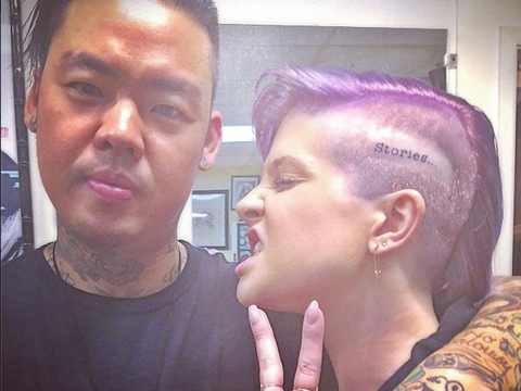 Pic! Kelly Osbourne Got a Tattoo Where?