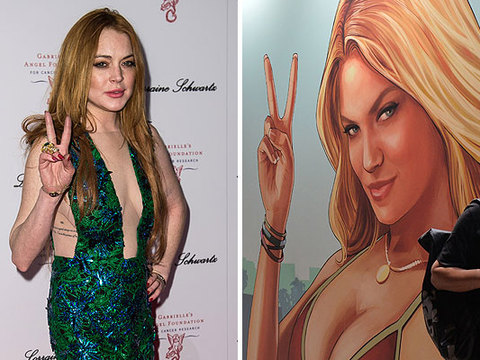 Lindsay Lohan Sues Grand Theft Auto over Video Game Character