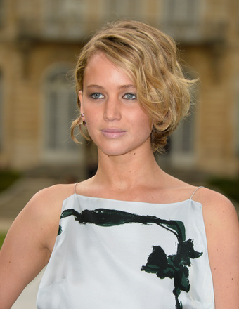 Oh, Jennifer Lawrence! She Flashes Side Boob, Messes with Emma Watson