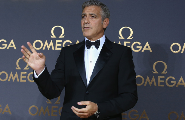 George Clooney Slams Website for 'Fabricated' Story about Fiancée