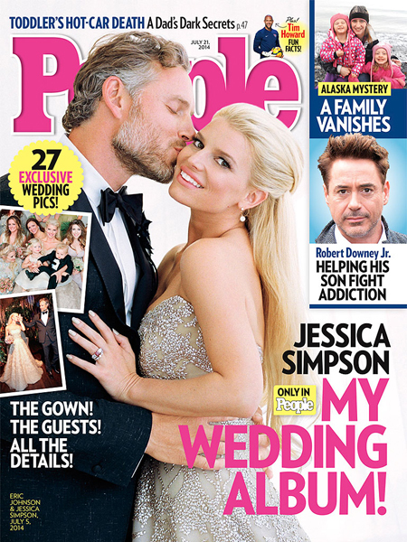 See Jessica Simpson and Eric Johnson's Romantic Wedding Photo, and Her Dress!