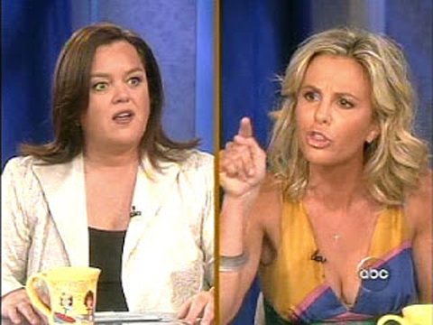 Uh-Oh! Elisabeth Hasselbeck Just Posted a Message About 'The View' and Rosie O'Donnell