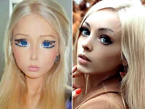 Human Barbie Alina Koyalevskaya Vs Valerie Lukyanova
