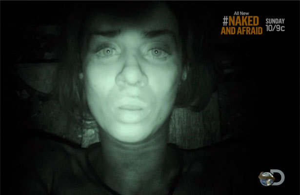 It's Time for Some Awkward Spooning on 'Naked and Afraid'